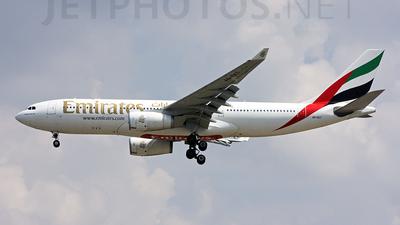 A6-EKT - Airbus A330-243 - Emirates