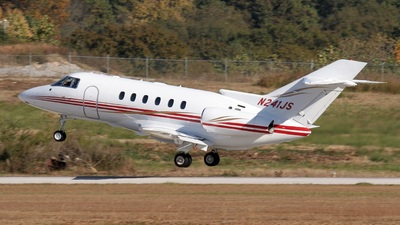 A picture of N241JS - Hawker 800XP - [258652] - © PeachAir