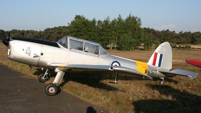 G-ULAS - De Havilland Canada DHC-1 Chipmunk 22 - Private