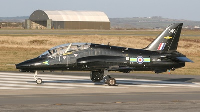 XX349 - British Aerospace Hawk T.1W - United Kingdom - Royal Air Force (RAF)