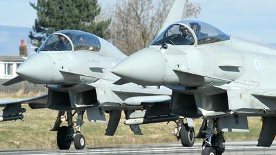 ZJ700 - Eurofighter Typhoon F.2 - United Kingdom - Royal Air Force (RAF)