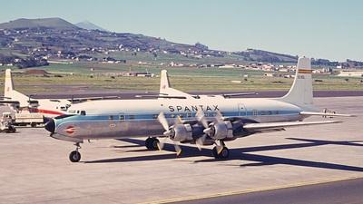 EC-BDL - Douglas DC-7C Seven Seas - Spantax