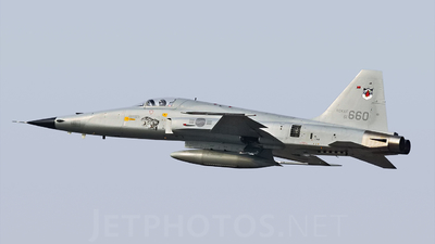 61-660 - Northrop F-5E Tiger II - South Korea - Air Force