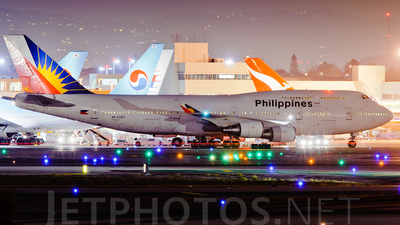 RP-C7471 - Boeing 747-4F6 - Philippine Airlines
