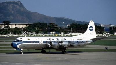 PP-VNJ - Lockheed L-188A Electra - Varig