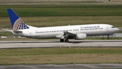 N37255 - Boeing 737-824 - Continental Airlines