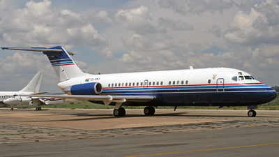 ZS-MNT - McDonnell Douglas DC-9-15 - South Africa - Air Force