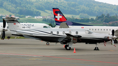 HB-FPZ - Pilatus PC-12/47 - Air Sarina