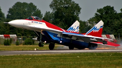 156 - Mikoyan-Gurevich MiG-29OVT Fulcrum E - Russian Aircraft Corporation MiG