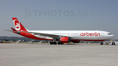 D-AERQ - Airbus A330-322 - Air Berlin (LTU)