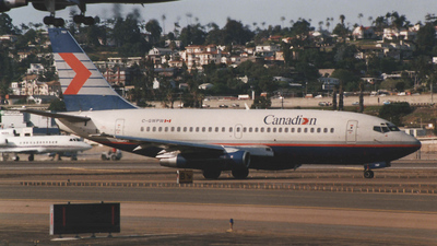 C-GWPW - Boeing 737-275(Adv) - Canadian Airlines International