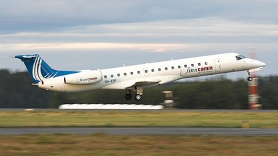 OH-EBF - Embraer ERJ-145LU - Finncomm Airlines