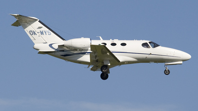 OK-MYS - Cessna 510 Citation Mustang - Time Air