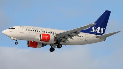 Boeing 737-683 - Scandinavian Airlines (SAS)