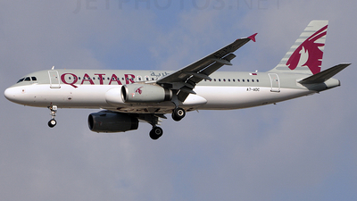 A7-ADC - Airbus A320-232 - Qatar Airways
