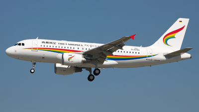 D-AVWA - Airbus A319-115 - Tibet Airlines