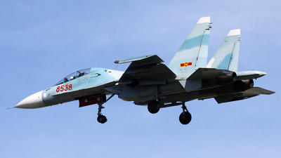 8538 - Sukhoi Su-30MK2 - Vietnam - Air Force