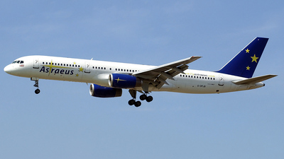 G-OPJB - Boeing 757-23A - Astraeus Airlines