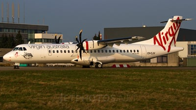 OY-CJV - ATR 72-212A(500) - Virgin Australia Regional Airlines (Skywest Airlines)