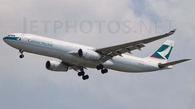B-HLV - Airbus A330-343 - Cathay Pacific Airways