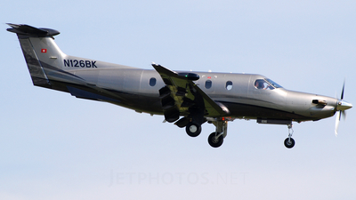 N126BK - Pilatus PC-12/47 - Private