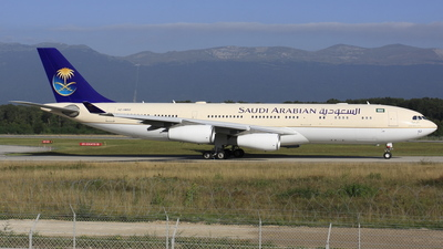 HZ-HMS2 - Airbus A340-213X - Saudi Arabia - Royal Flight