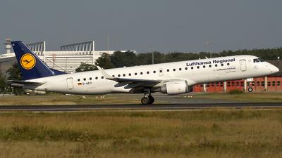 D-AECI - Embraer 190-100LR - Lufthansa Regional (CityLine)