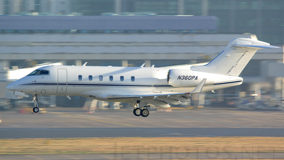 N360PA - Bombardier BD-100-1A10 Challenger 300 - Private