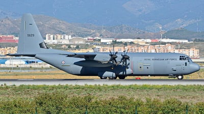 5629 - Lockheed Martin C-130J-30 Hercules - Norway - Air Force