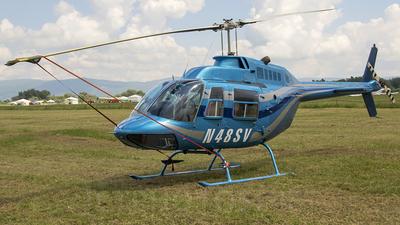 N48SV - Bell 206B JetRanger II - Private
