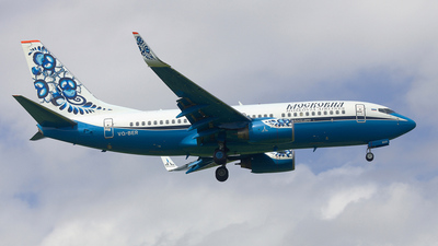 VQ-BER - Boeing 737-7L9 - Moskovia Airlines