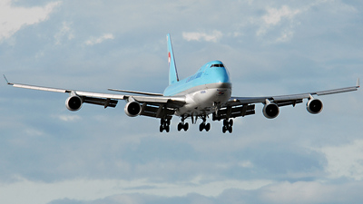 HL7466 - Boeing 747-4B5F(SCD) - Korean Air Cargo