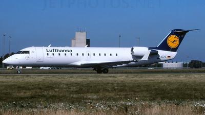 D-ACHE - Bombardier CRJ-200LR - Lufthansa CityLine