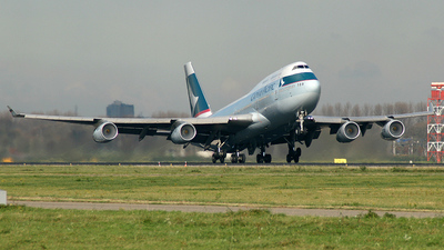 B-HOP - Boeing 747-467 - Cathay Pacific Airways