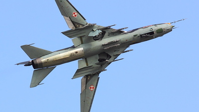 3816 - Sukhoi Su-22M4 Fitter K - Poland - Air Force
