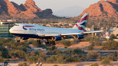 G-BNLX - Boeing 747-436 - British Airways