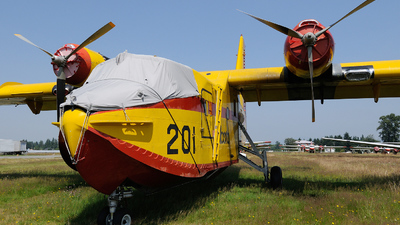 C-GFSK - Canadair CL-215 - Canada - Alberta Government Air Transportation Services