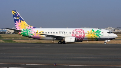 JA737B - Boeing 737-46Q - Skynet Asia Airways