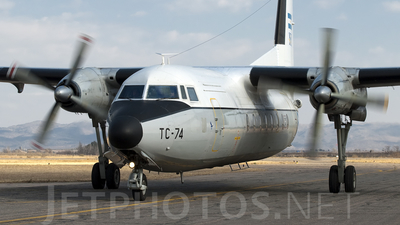 TC-74 - Fokker F27-400M Troopship - Argentina - Air Force