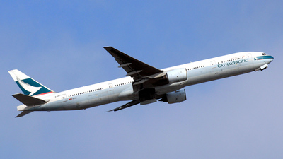 B-HNJ - Boeing 777-367 - Cathay Pacific Airways