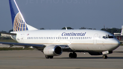 N12349 - Boeing 737-3T0 - Continental Airlines