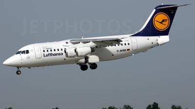 British Aerospace Avro RJ85 - Lufthansa Regional (CityLine)