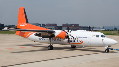 P2-TAF - Fokker 50 - Travel Air