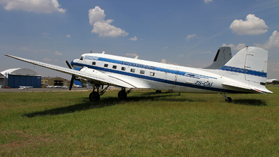 ZS-CAI - Douglas DC-3C - Lush Aviation