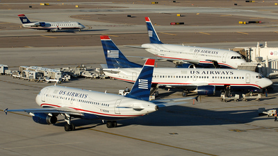N829AW - Airbus A319-132 - US Airways