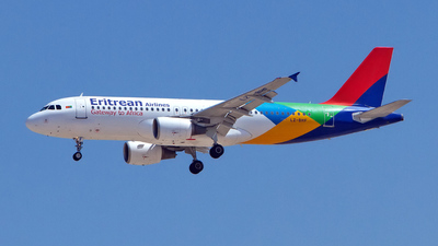 LZ-BHF - Airbus A320-214 - Eritrean Airlines