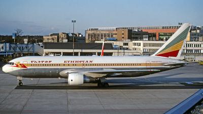 ET-AIF - Boeing 767-260(ER) - Ethiopian Airlines