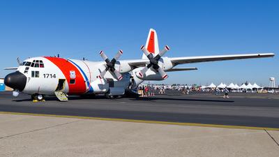 1714 - Lockheed HC-130H Hercules - United States - US Coast Guard (USCG)