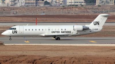 A picture of CGIXR - Mitsubishi CRJ200ER - United Nations - © Siegi N.