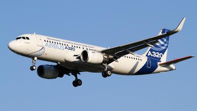 F-WWBA - Airbus A320-111 - Airbus Industrie